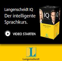 Neu Langenscheidt IQ Französisch, Italienisch und Schwedisch