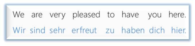 Übersetzung Englisch Deutsch