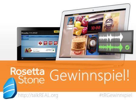 tR Blog Gewinnspiel Rosetta Stone