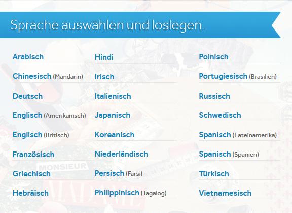 tR Blog Sprachen Rosetta Stone