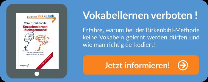 tR Blog Gründe gegen das Vokabeln lernen Birkenbihl