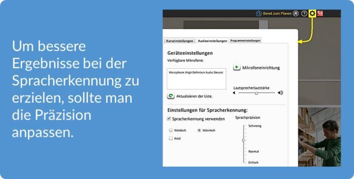 tR Blog Rosetta Stone Test Anpassung der Spracherkennung 720