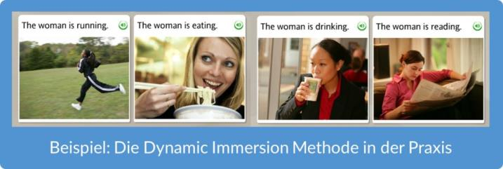 Rosetta Stone - Beispiel Dynamic Immersion Methode