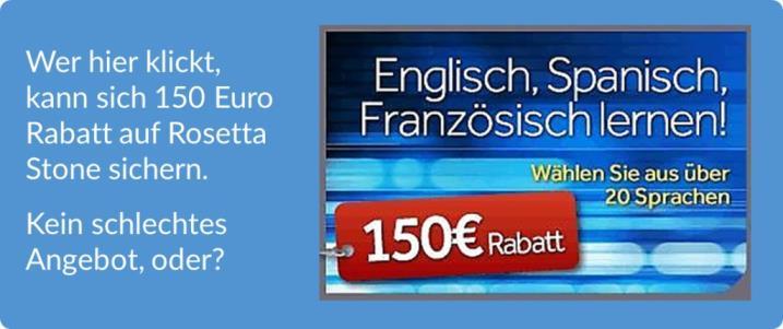 tR Blog Rosetta Stone Test Rabatt Angebot