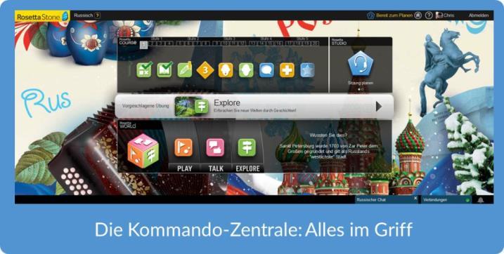 tR Blog Rosetta Stone Test Startbildschirm TOTALe 720