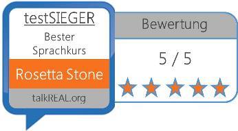 Auszeichnung für Rosetta Stone