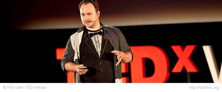 Benny Lewis at TEDx Warschau