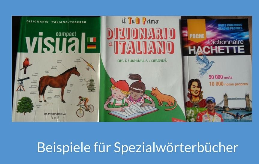 Beispiel Spezialwörterbücher 2