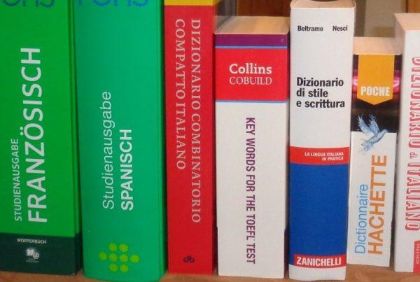 Wörterbücher Header