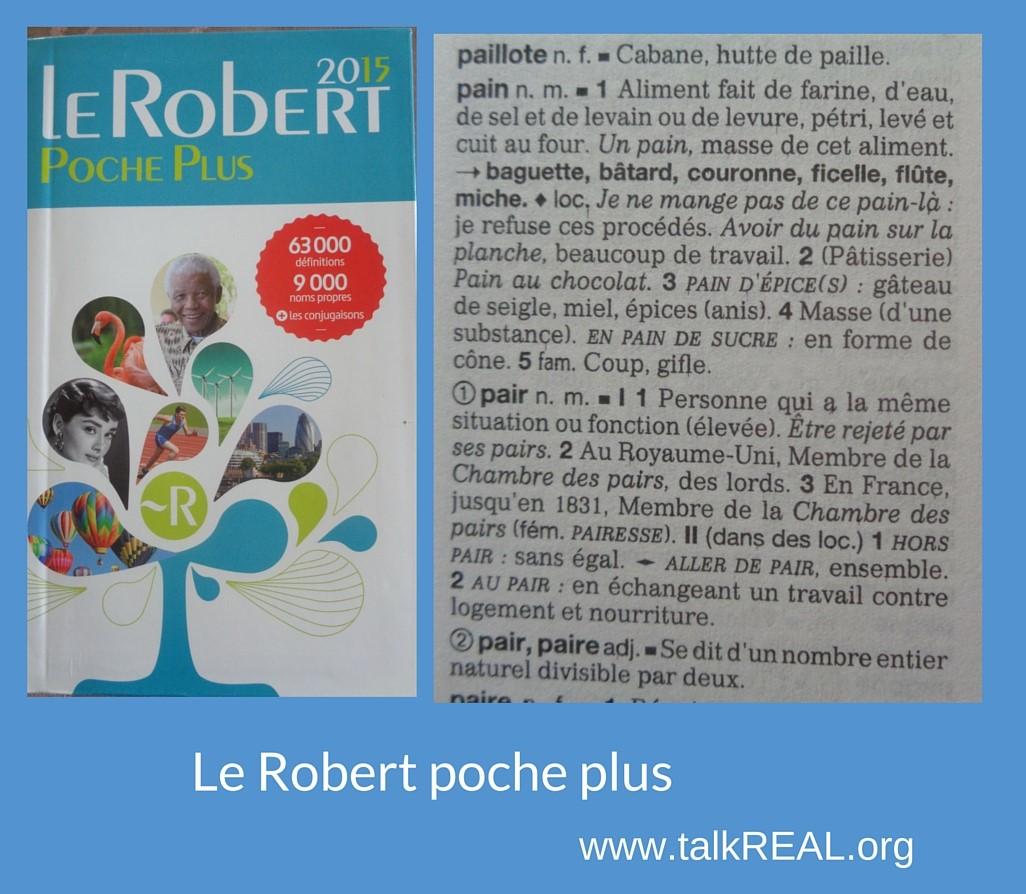 Le Robert plus poche
