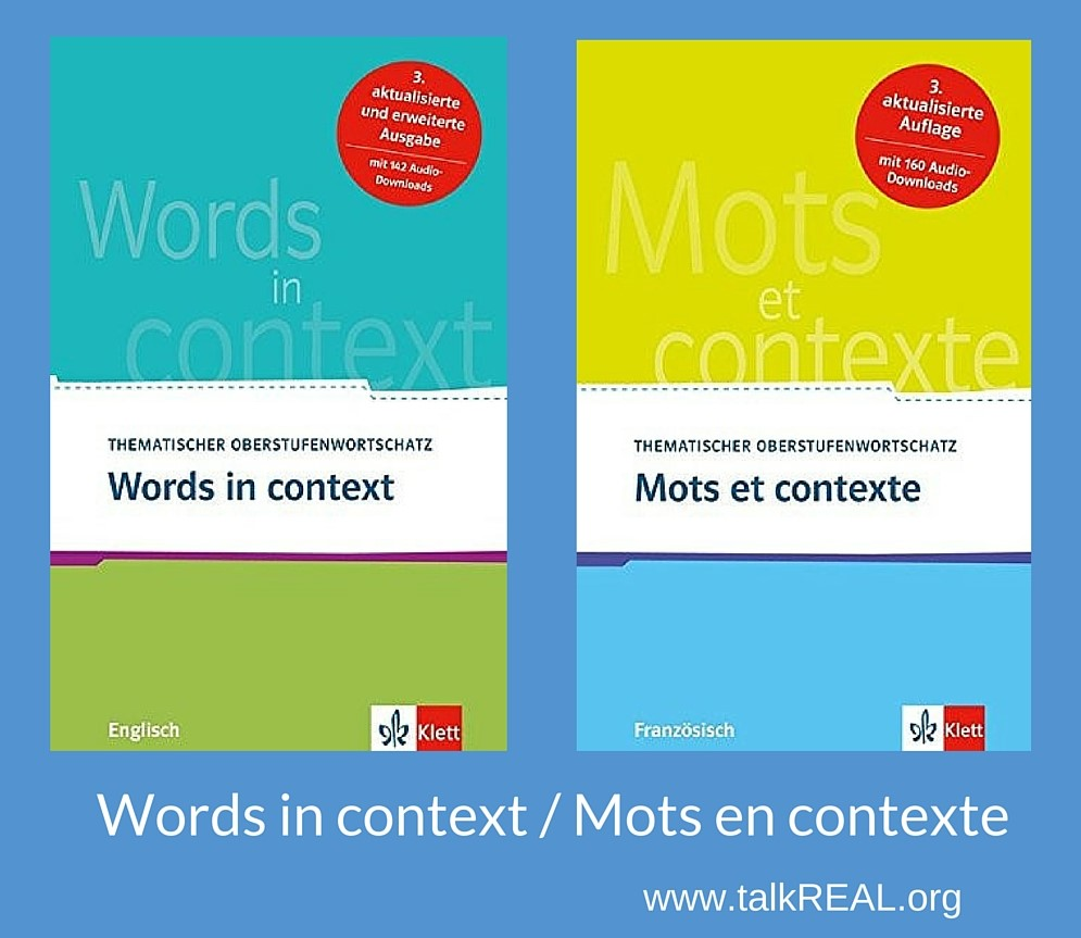 Words in context Mots en contexte