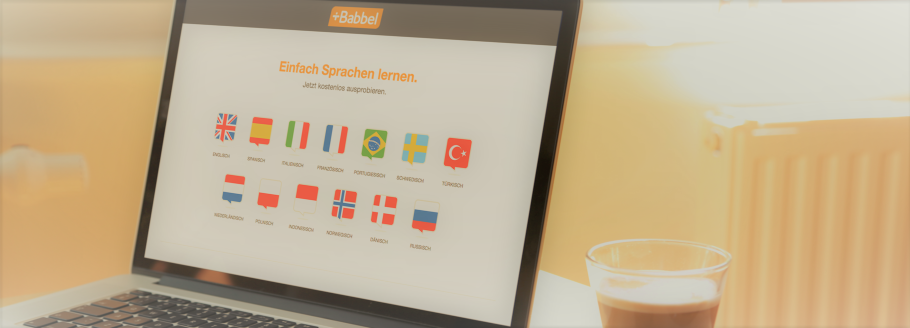Mit Babbel online Sprachen lernen