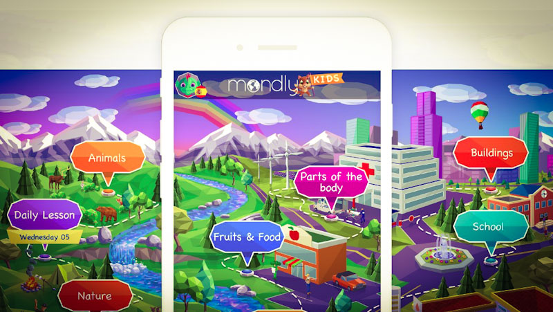 Mondly Kids App im Test