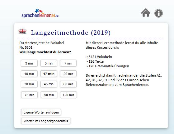 Sprachenlernen24 Einstufungstest