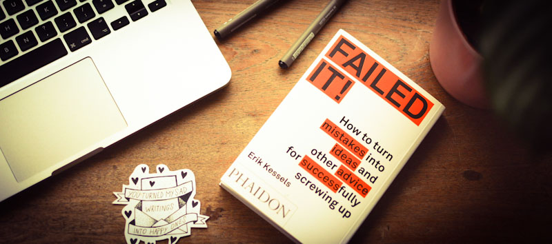 Buch über Fehler