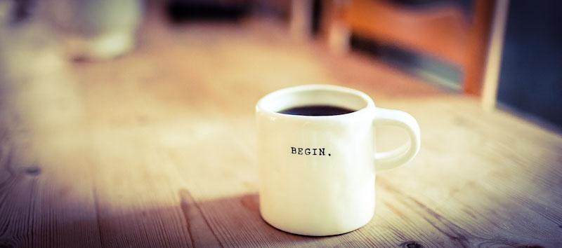 Beginne am Morgen mit Sprachaufgaben