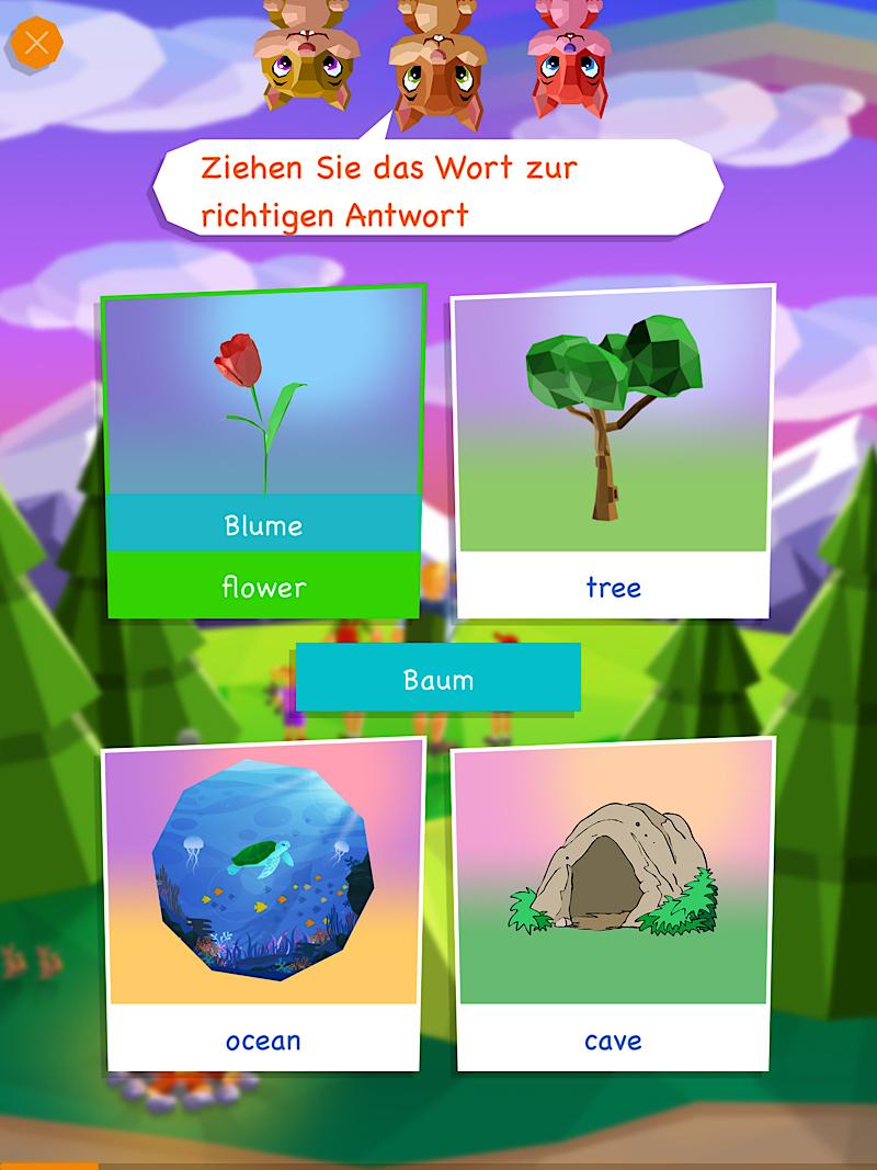 Englisch App Mondly Kids