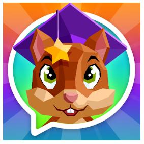 Englischlernen für Kinder mit Mondly Kids (Logo)