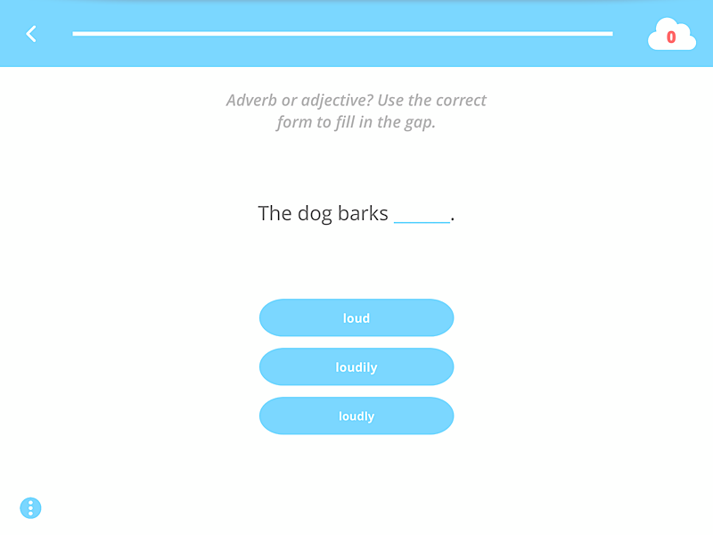 Englisch App EASY peasy Grammatik