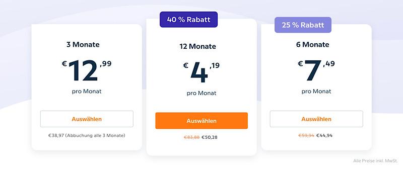 Aktuelle Preise bei Babbel (Sept. 21)